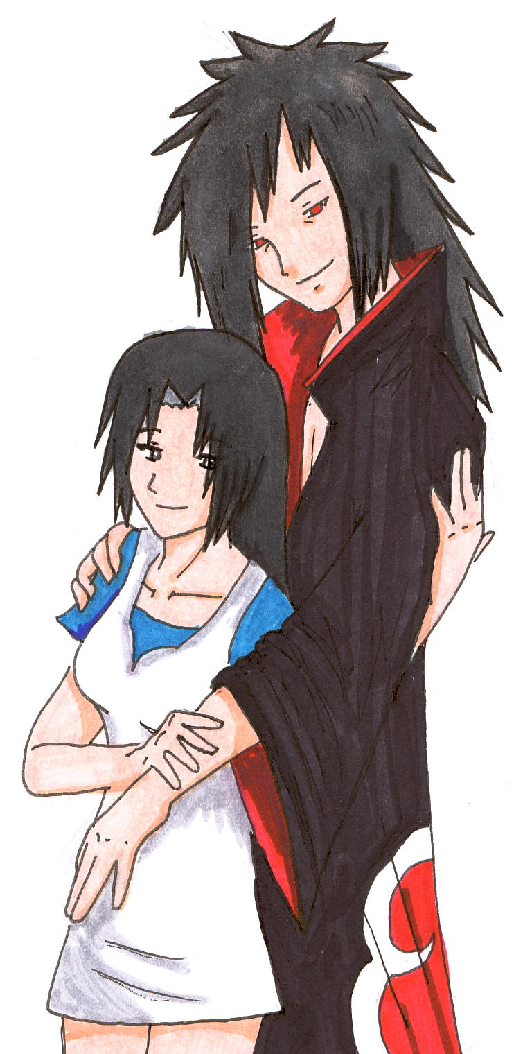 Madara x Mikoto by dragondoneit