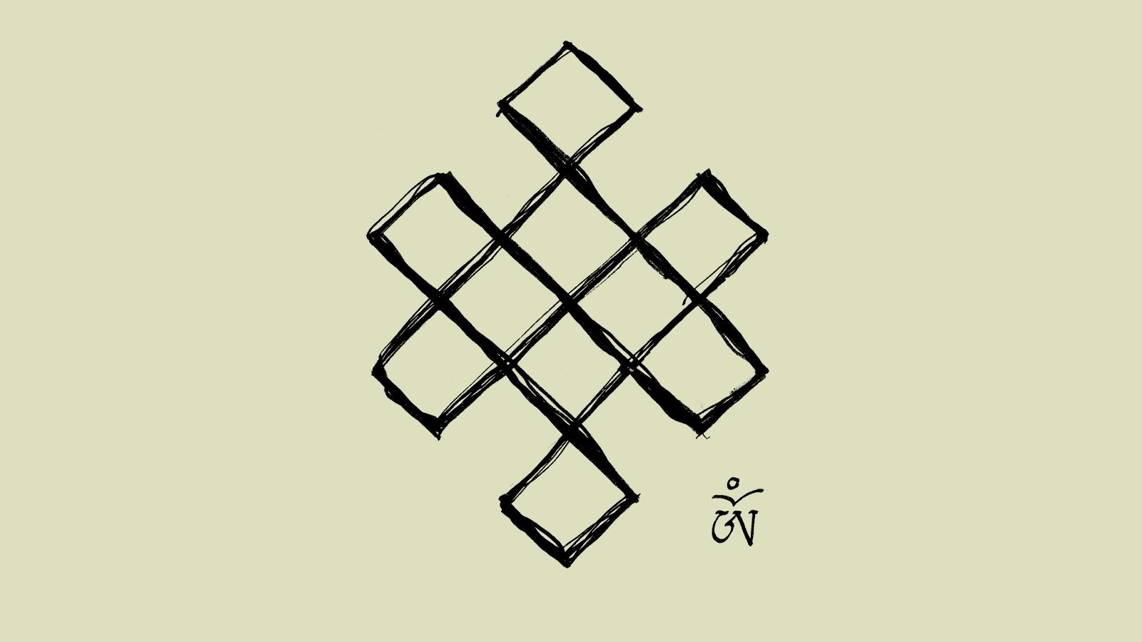 Tibetan Eternal Knot Autocar Bildideen