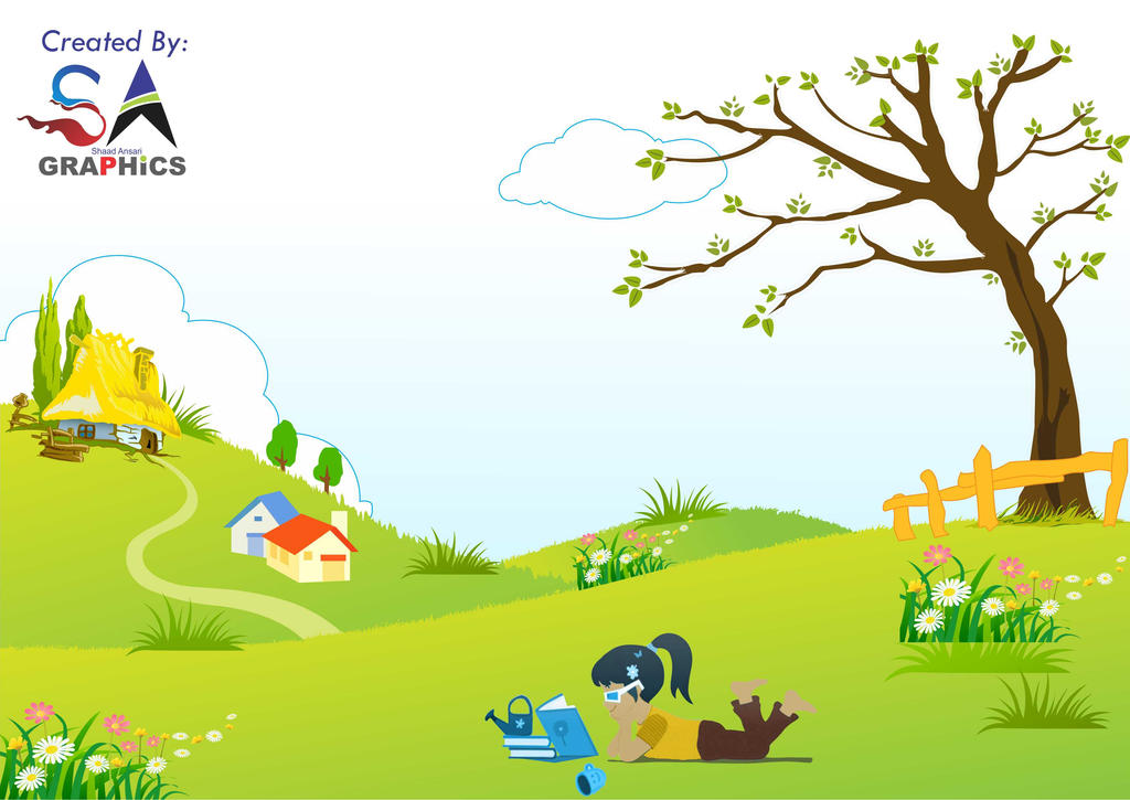 nature theme for children cataloge or books by sadyaadein