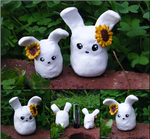 Sunflower Bunnies by yingmakes
