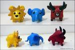 Primary Colours Shape Animals