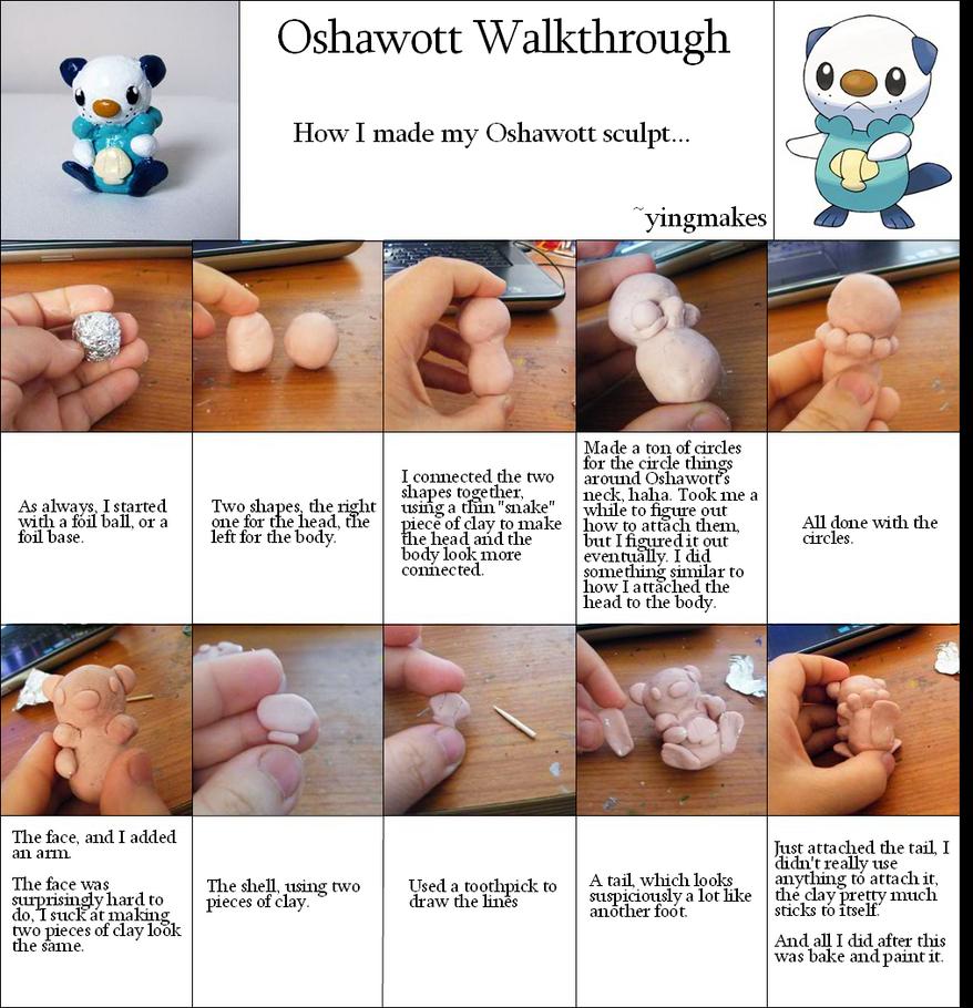 Oshawott Walkthrough by yingmakes