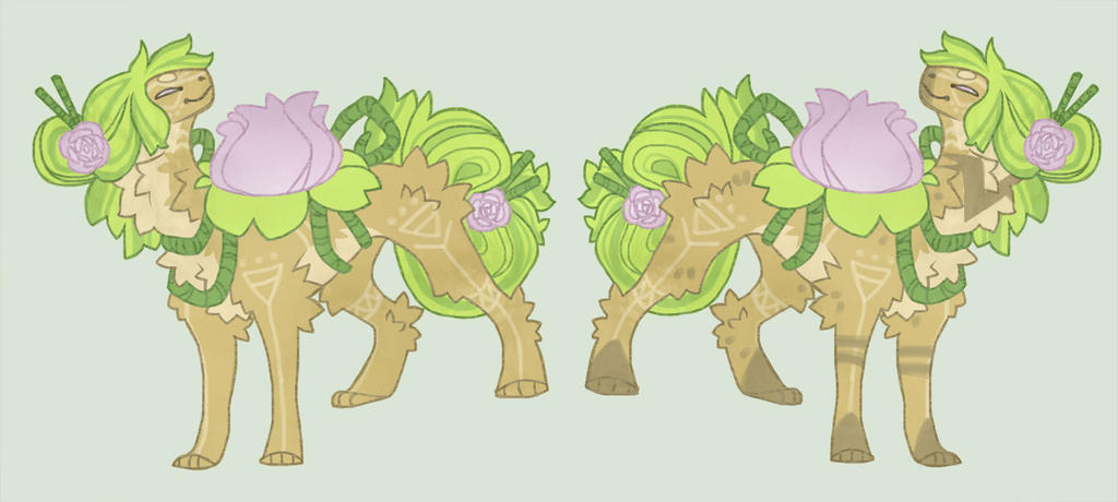 Water lilly adoptable (auction 10min left 8$) by Shegoran