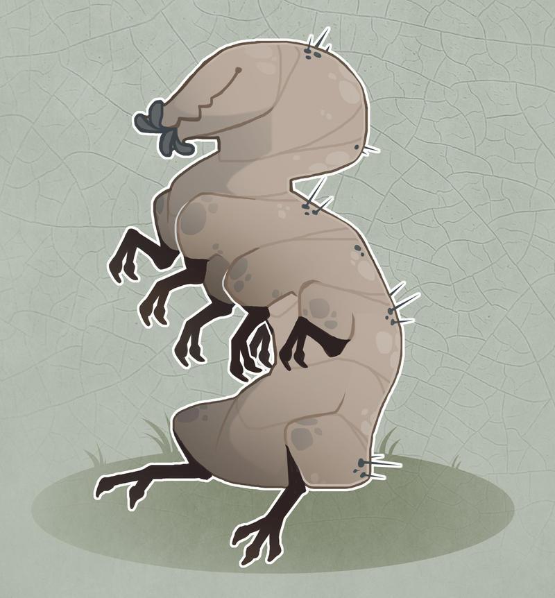 Tardigrade monster [OTA] [CLOSED] by Shegoran