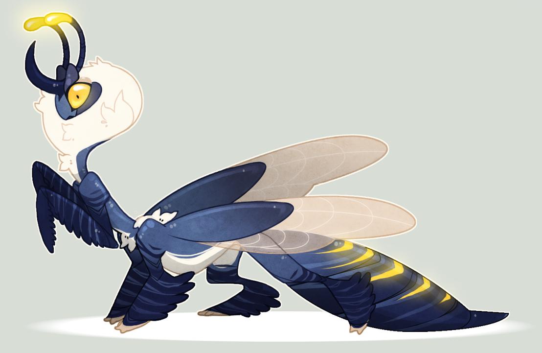 Dynastinae Taur-mantis adoptable auction by Shegoran