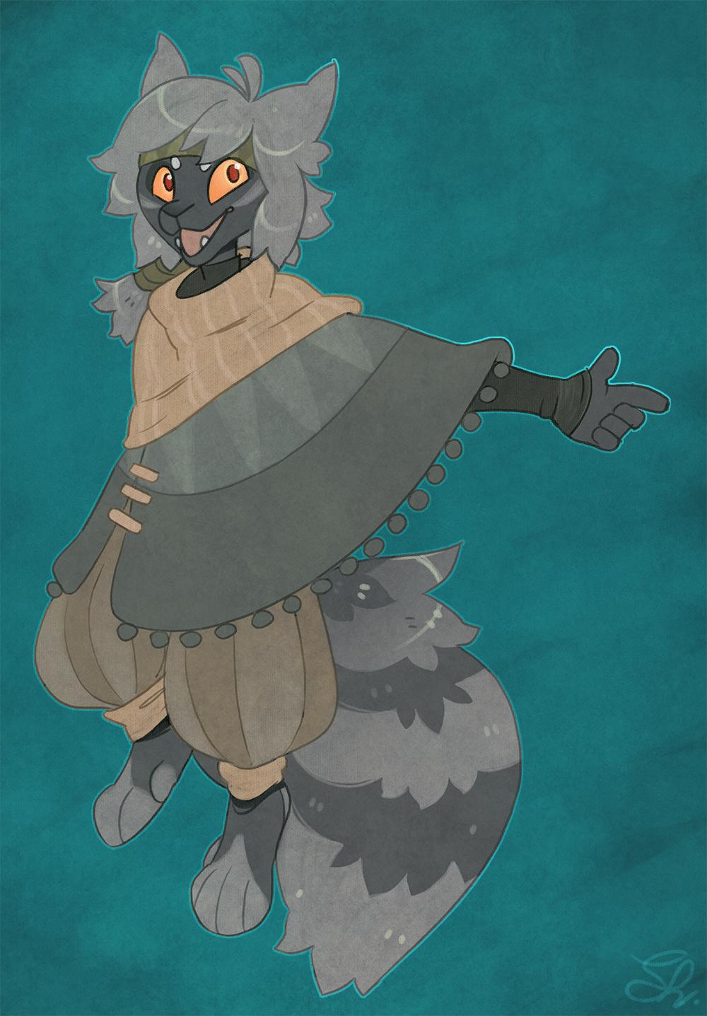 Fox kid by Shegoran