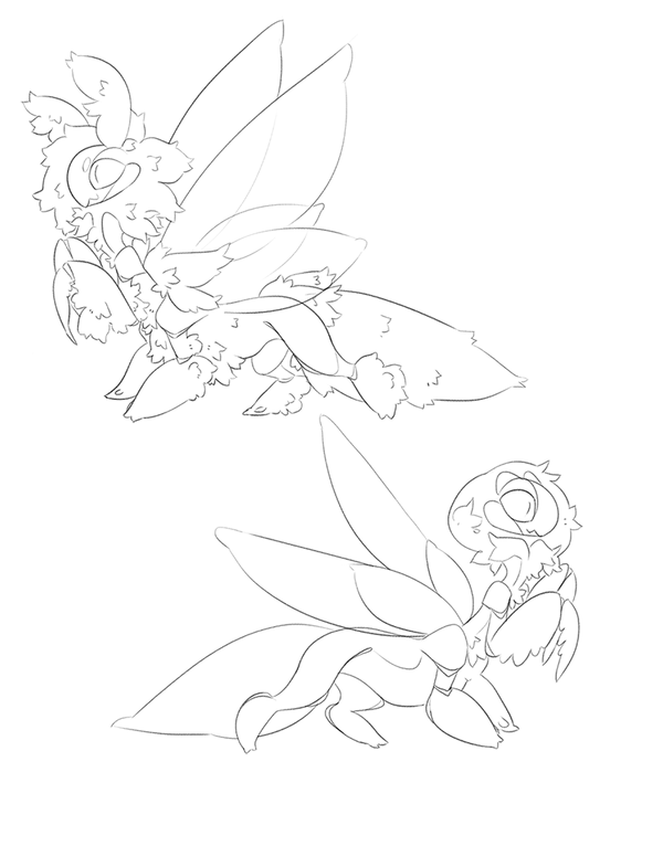 (emergency) Taur-Mantis adoptables YCH (closed) by Shegoran