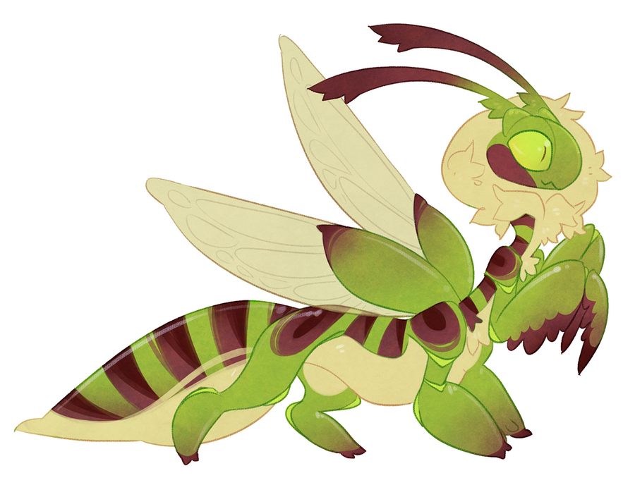 Taur-mantis YCH (open 20$ see description) by Shegoran