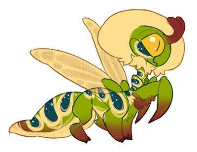 Tiny Taur-mantis sold by Shegoran