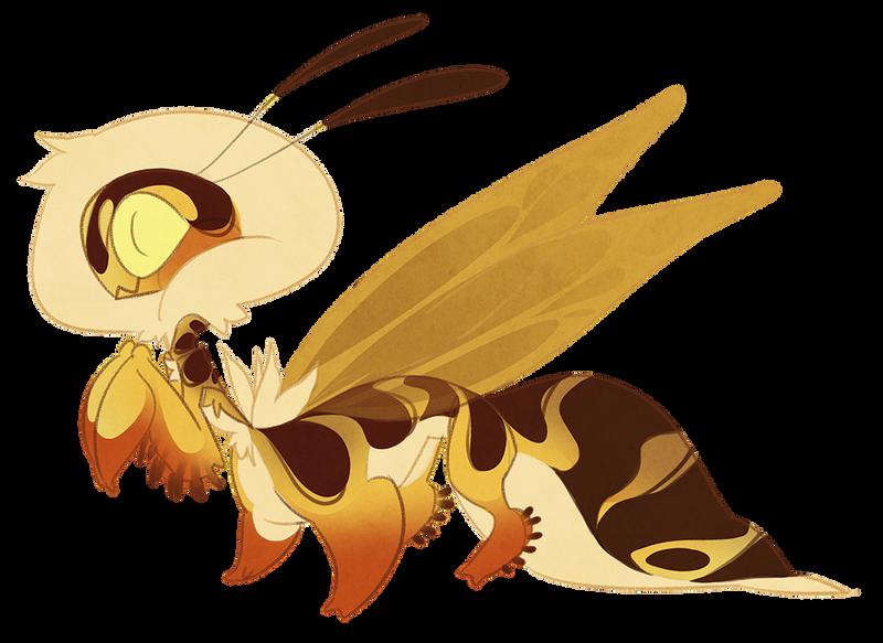 Wasp Taur-mantis (closed) by Shegoran