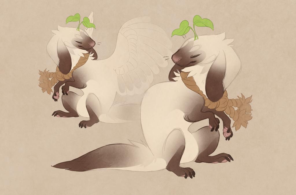 ADOTD: siamese ferret bunny (sold) by Shegoran