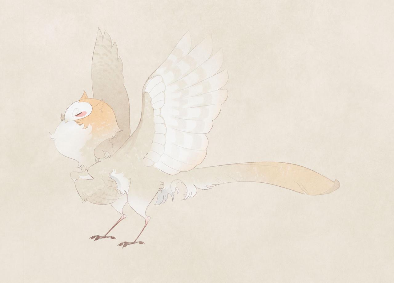AOTD: barred owl raptor  (sold) by Shegoran