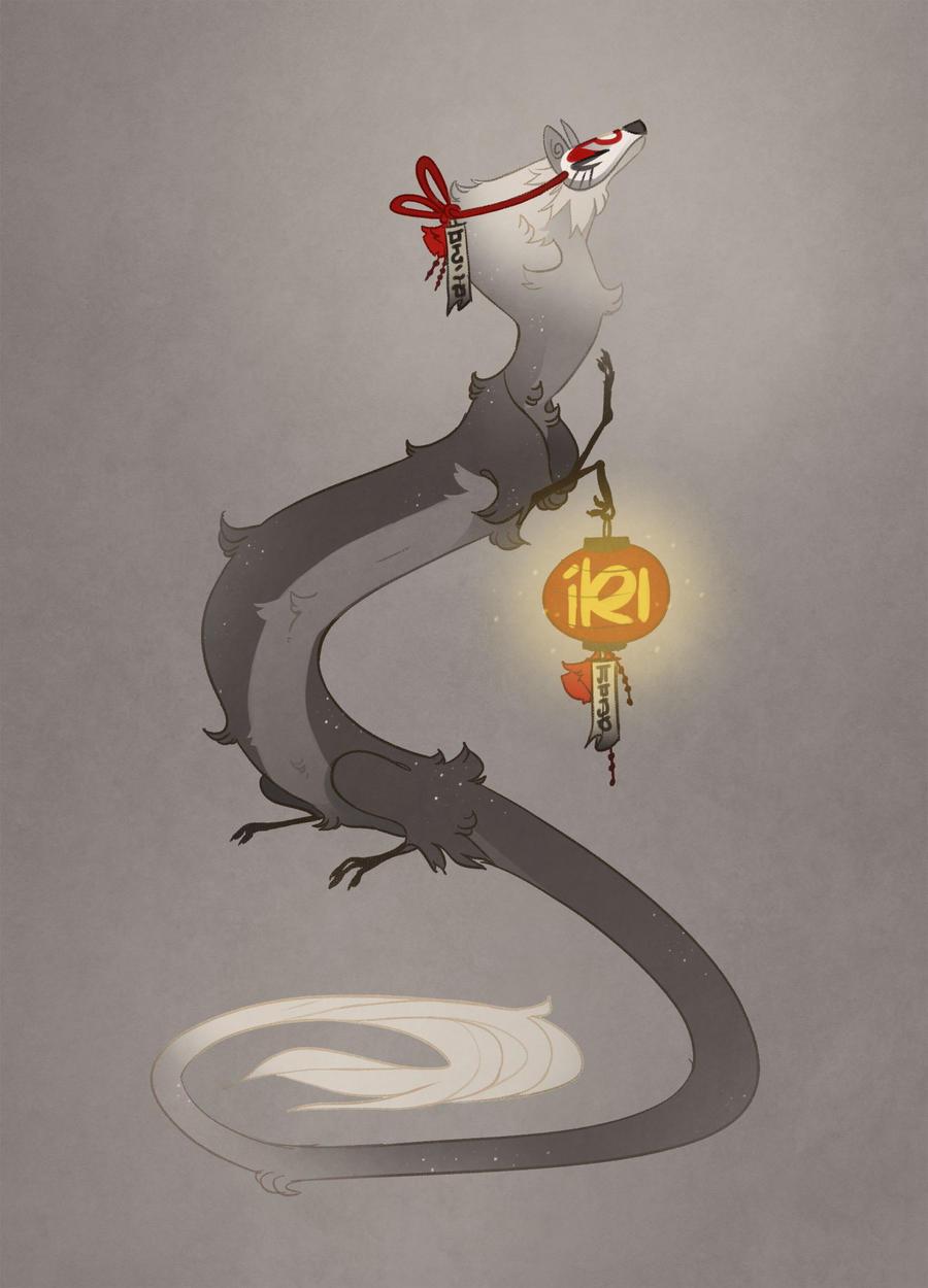 AOTD: Kitsune dragon (pending) by Shegoran