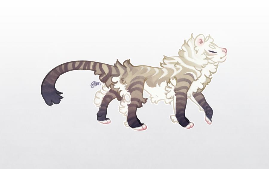 AOTD: Fancy Tiger (closed) by Shegoran