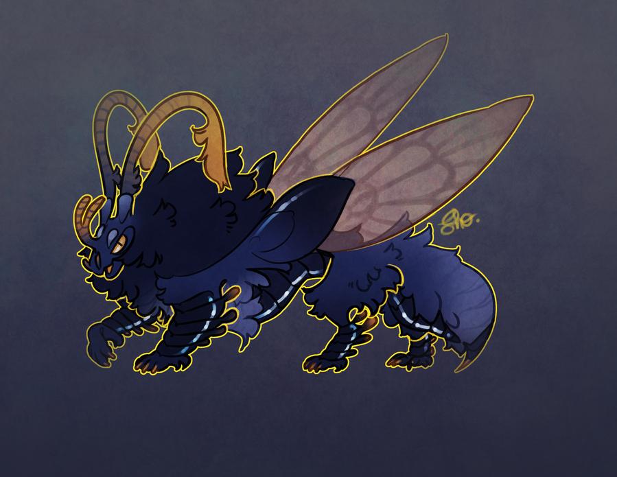 ADOTD: BeetleLion (closed) by Shegoran