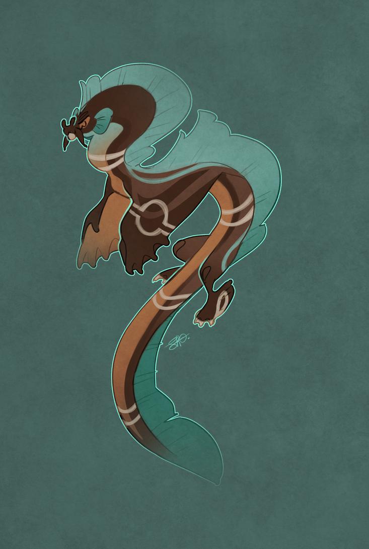 AOTD: Blue throat eel by Shegoran