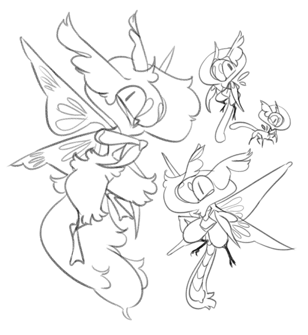 Mantis doodle by Shegoran