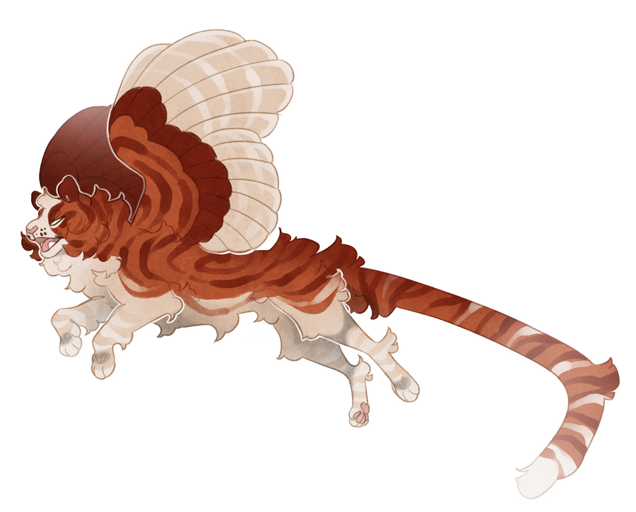 Flying tiger adoptable (sold) by Shegoran