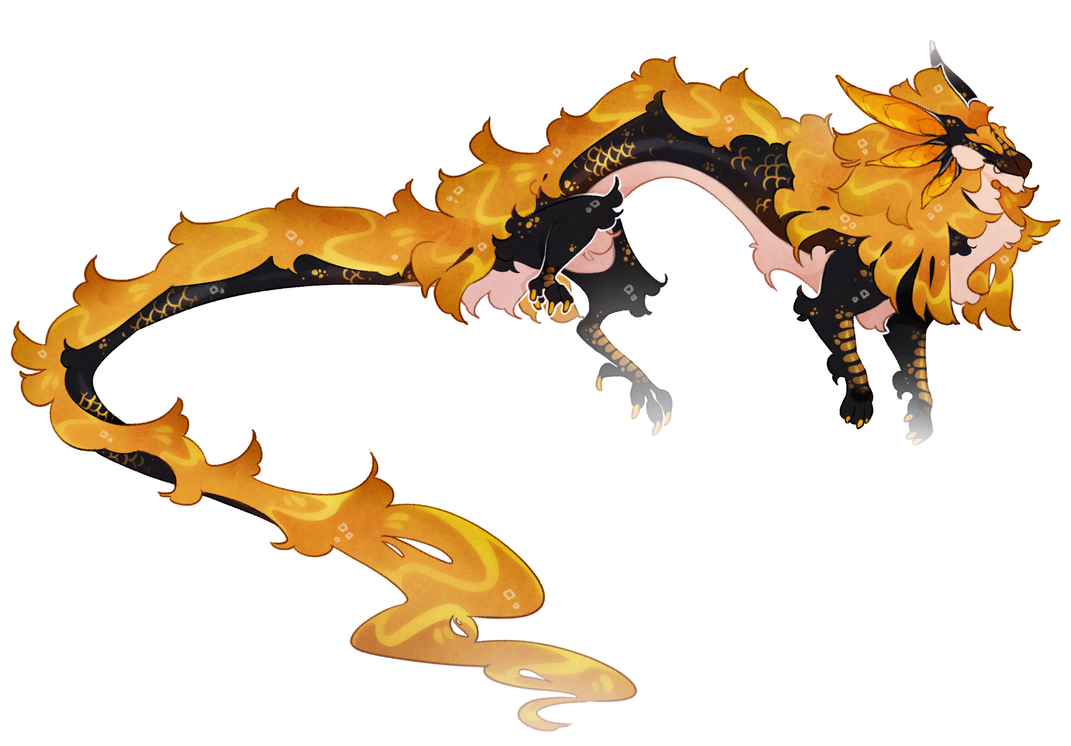 Dragon form by Shegoran
