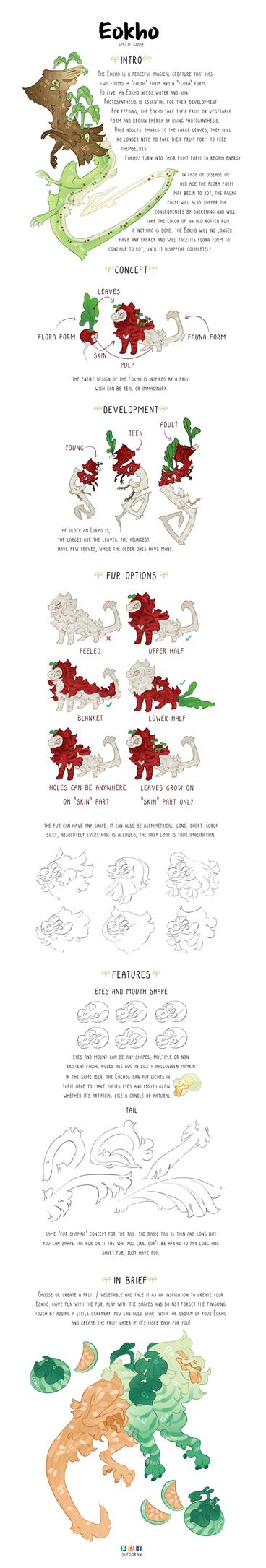 Eokho specie guide by Shegoran