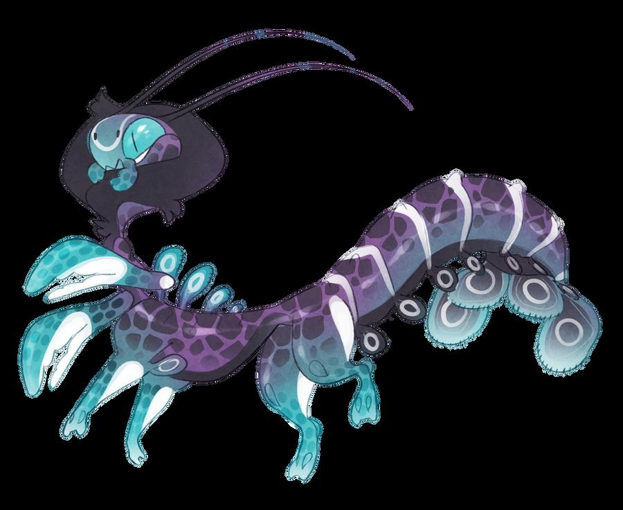 aquatic Taur mantis (on hold) by Shegoran