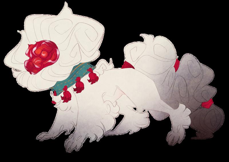 Ruby fu dog (open) by Shegoran