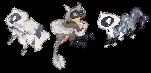 Black skull adopt (open)