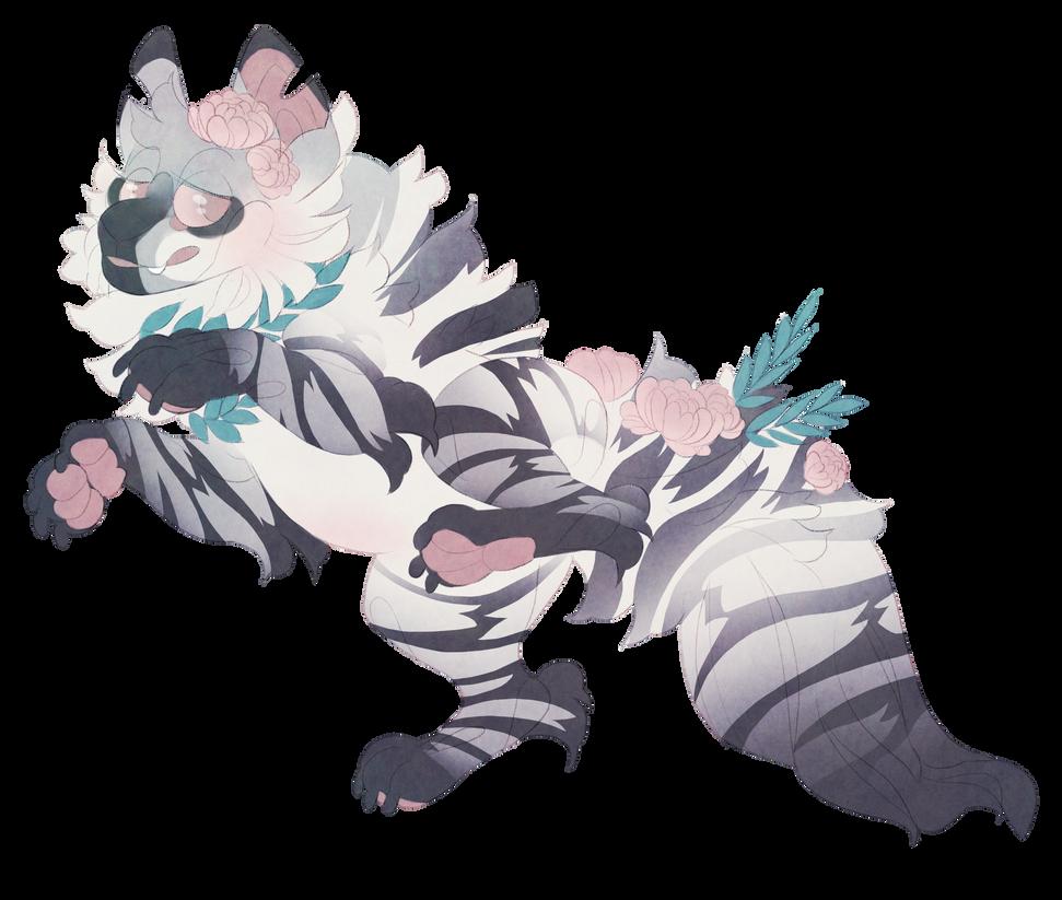 Striped hyena (ota) by Shegoran