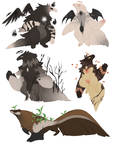 Anteater adoptables (all gone thank you )
