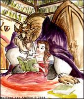 Belle en het Beest by Anvanya1981