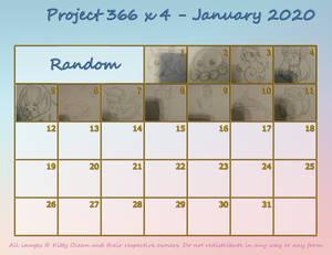 Project 366 x 4 - January 2020 - Random