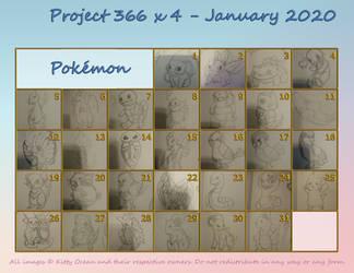 Project 366 x 4 - January 2020 - Pokemon
