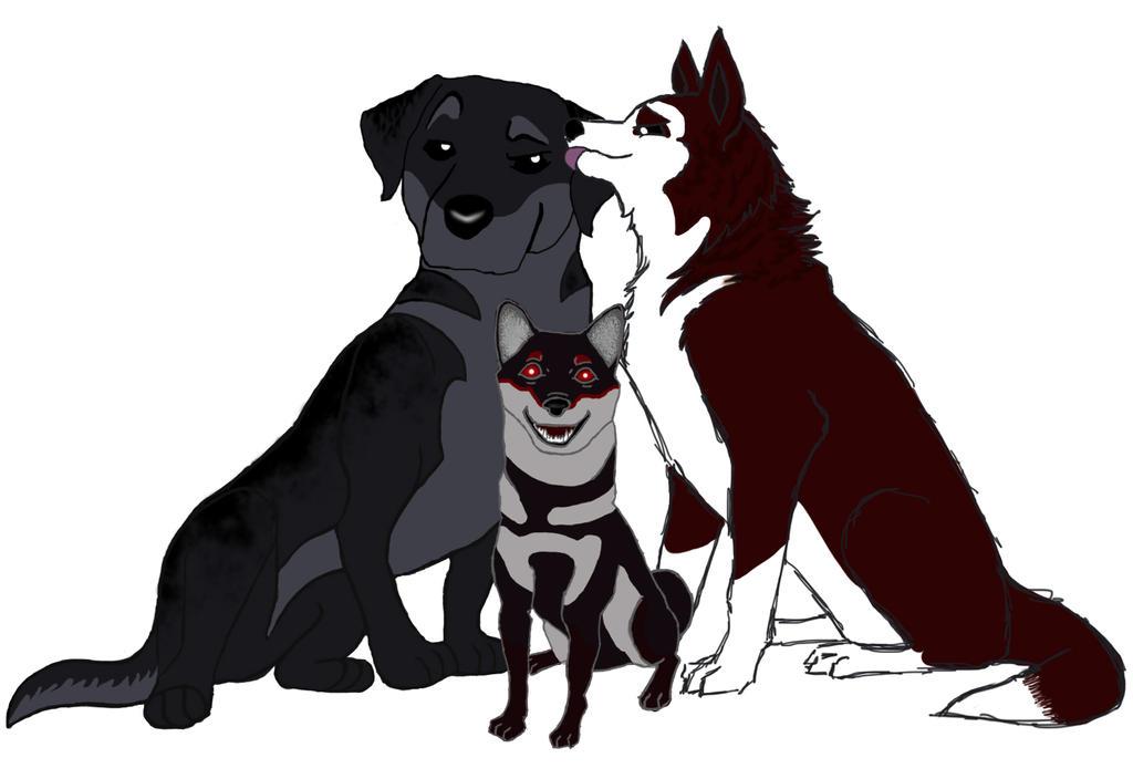 Evil family by darckvampireneko