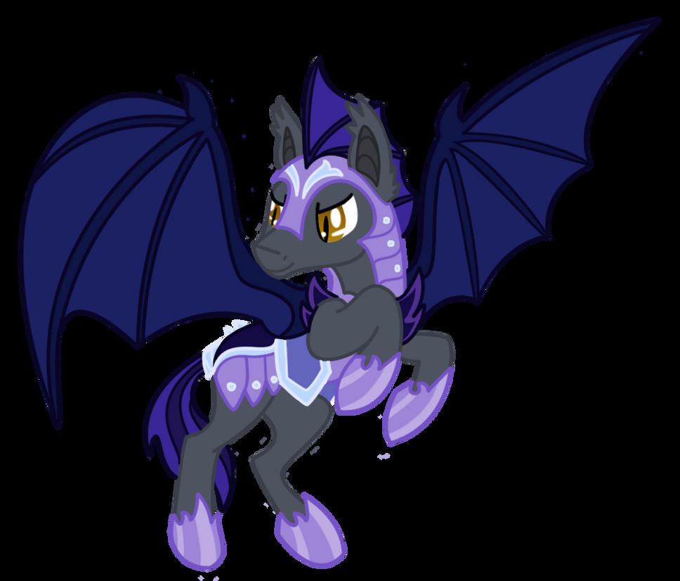 Bat pony - Royal Guard by darckvampireneko