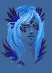 lady blue by selewyn