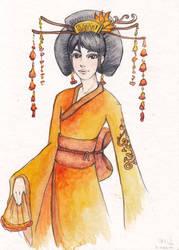 Geisha orange by selewyn