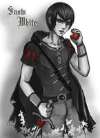 snow white, witch hunter black and red by selewyn