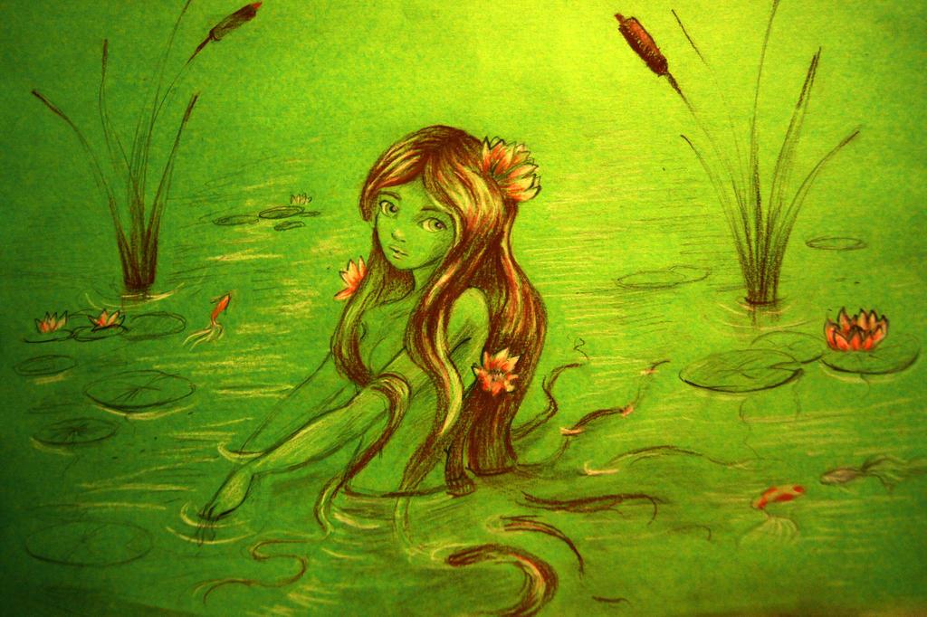 Nymphea's bath by selewyn