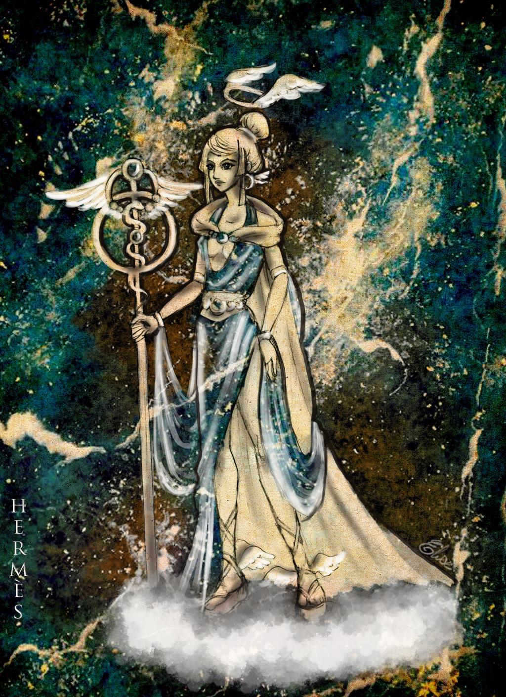 Hermes by selewyn