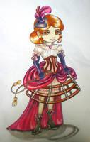 Chibi Steam Burlesque by selewyn