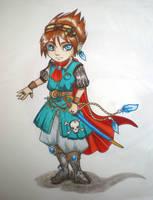 Chibi Steam Pirate by selewyn