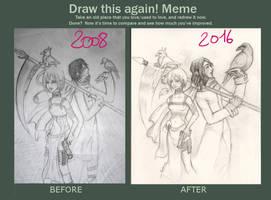 Draw This Again Meme01