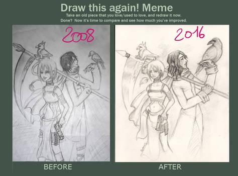 Draw This Again Meme01 by selewyn