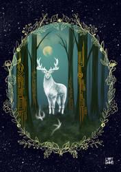 Animalspirit Cerf by selewyn
