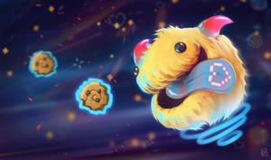Pac-Man Poro by Dakarri