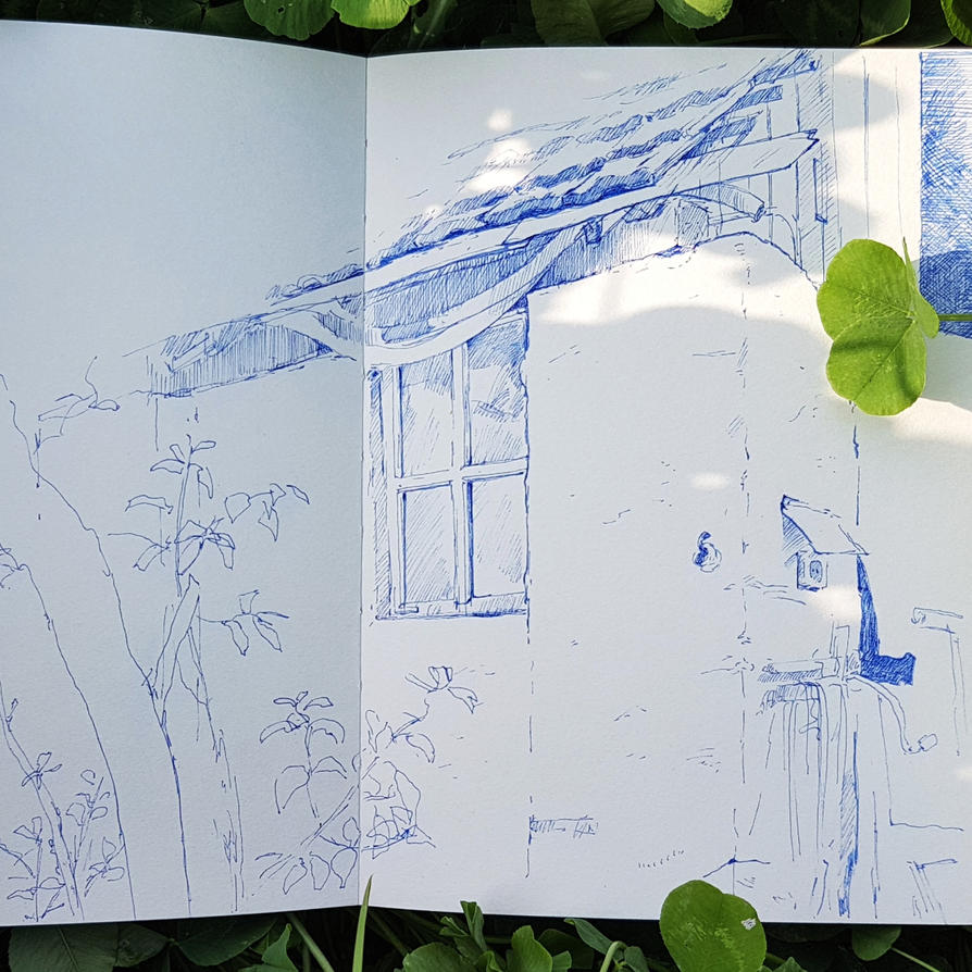 Outdoor Sketch 11 by Dakarri