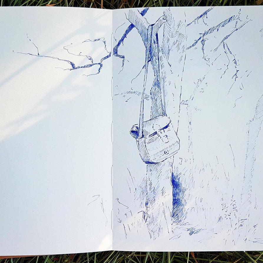 Outdoor Sketch 12 by Dakarri