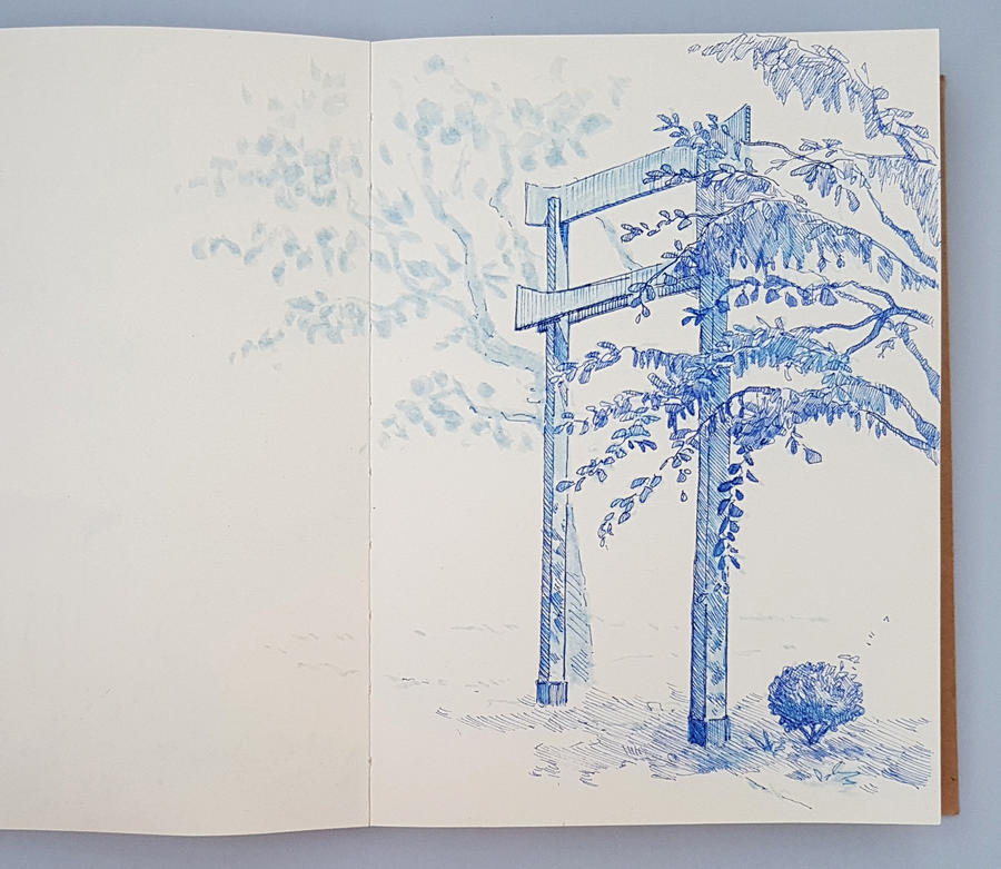 Outdoor Sketch 17 by Dakarri