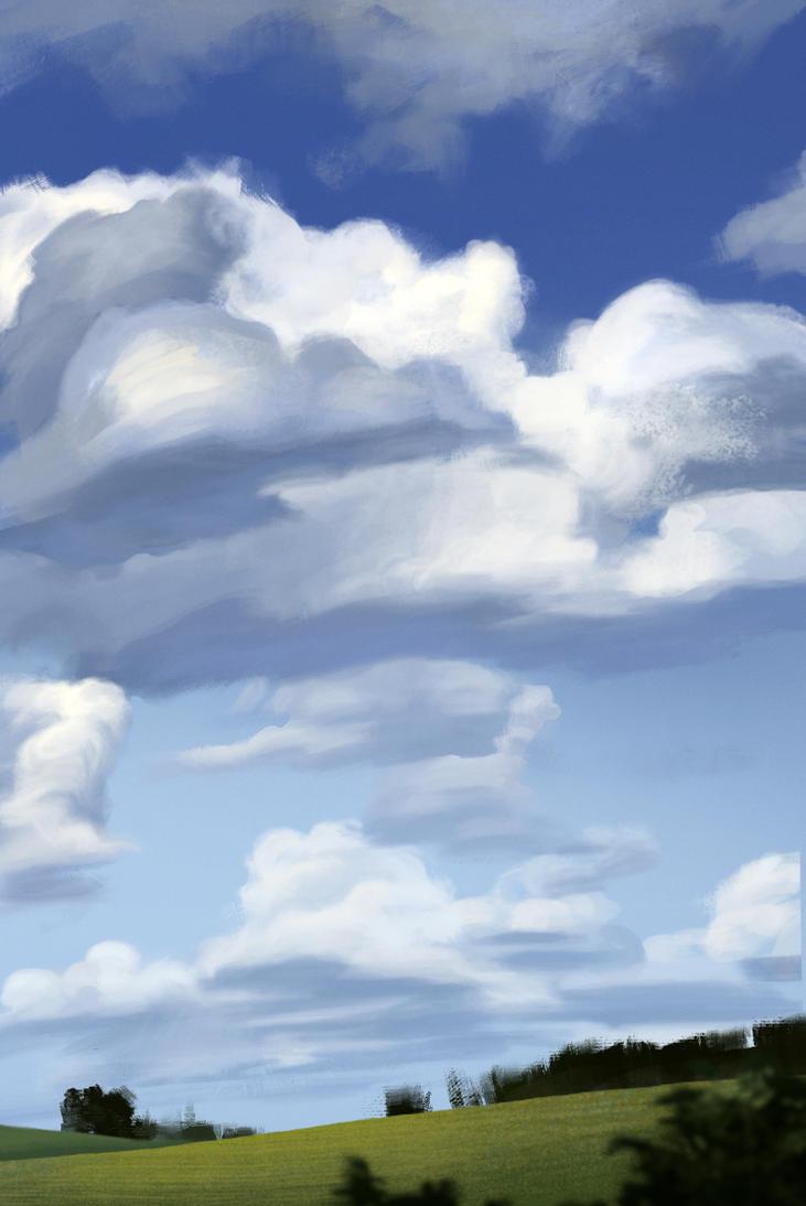 Clouds study - 2 by Dakarri