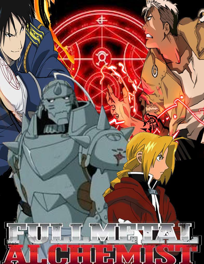 fullmetal alchemist poster by jako211 on DeviantArt